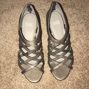 Eileen Fisher wedge heels
